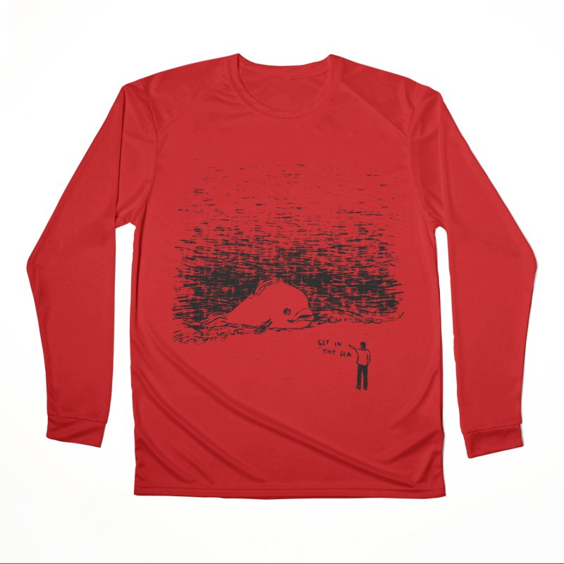 Get In The Sea Men's Performance Longsleeve T-Shirt by Martina Scott's Shop