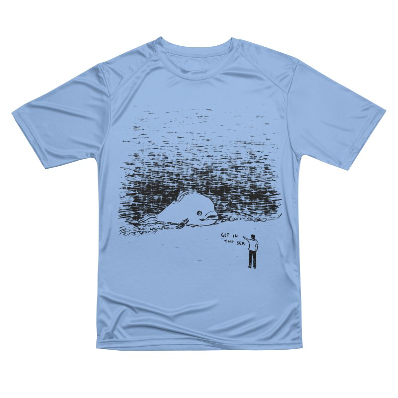 Get In The Sea Men's Performance T-Shirt by Martina Scott's Shop