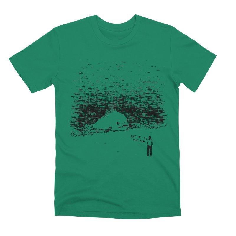 Get In The Sea Men's Premium T-Shirt by Martina Scott's Shop