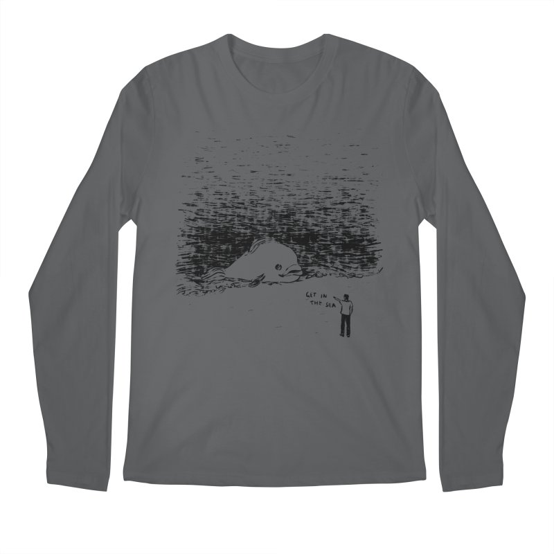 Get In The Sea Men's Longsleeve T-Shirt by Martina Scott's Shop