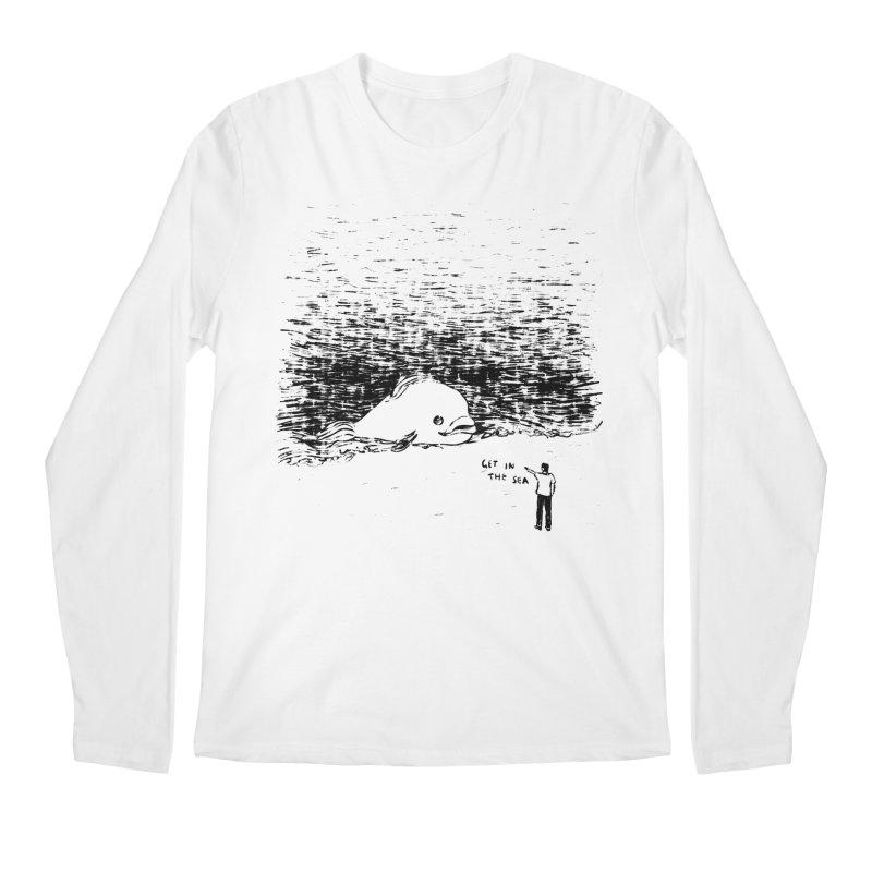 Get In The Sea Men's Regular Longsleeve T-Shirt by Martina Scott's Shop