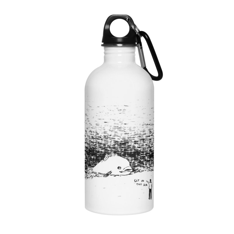 Get In The Sea Accessories Water Bottle by Martina Scott's Shop