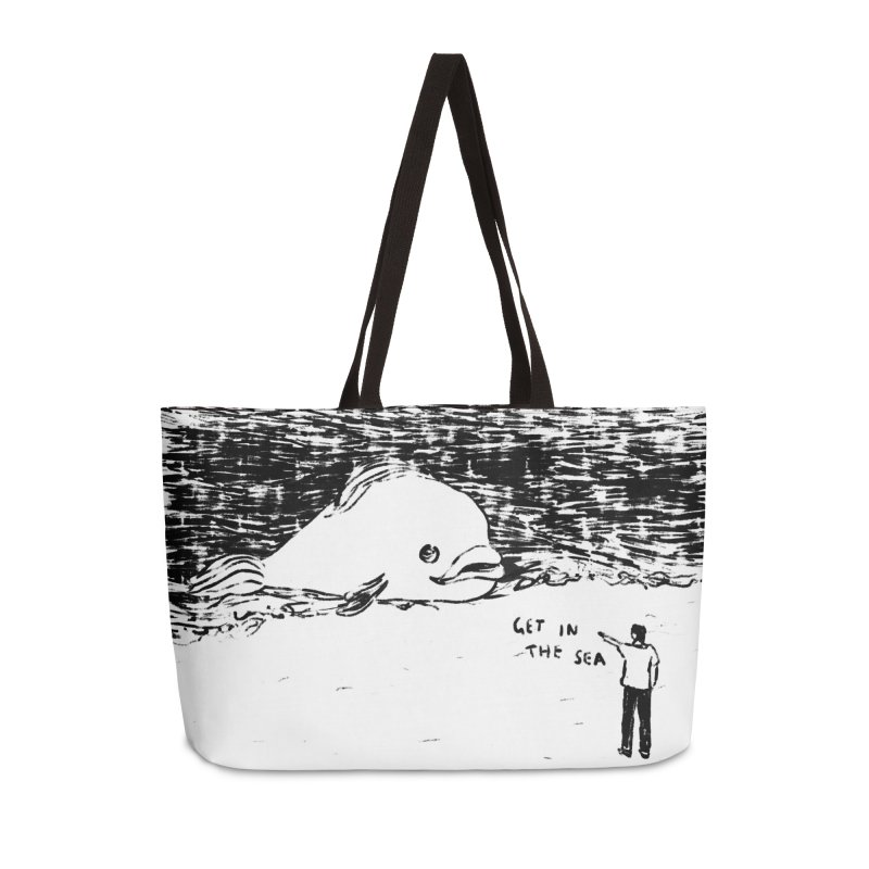 Get In The Sea Accessories Weekender Bag Bag by Martina Scott's Shop