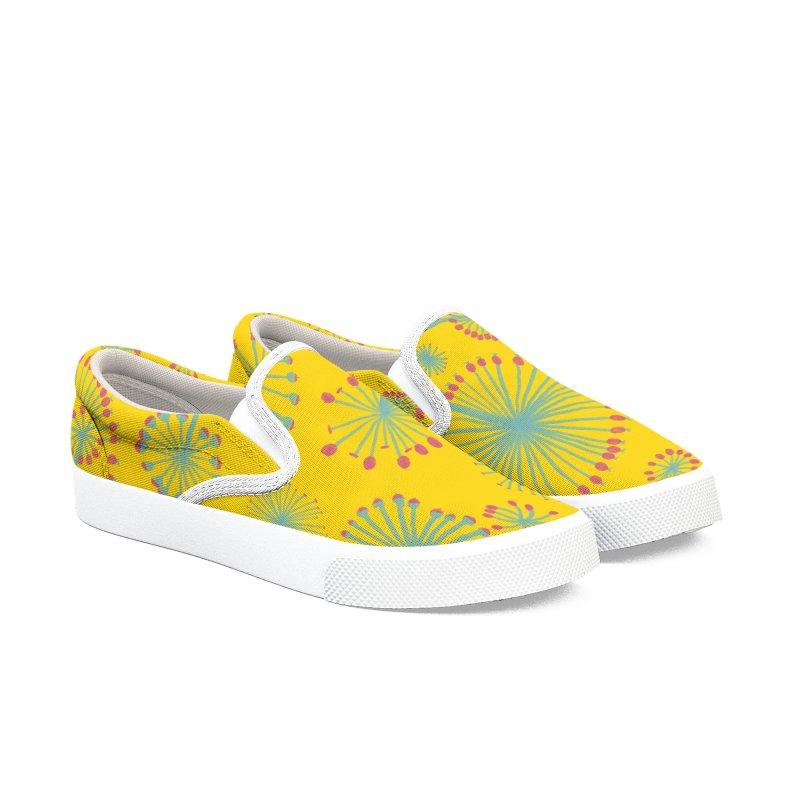 Morning Flowers Men's Shoes by Martina Scott's Shop