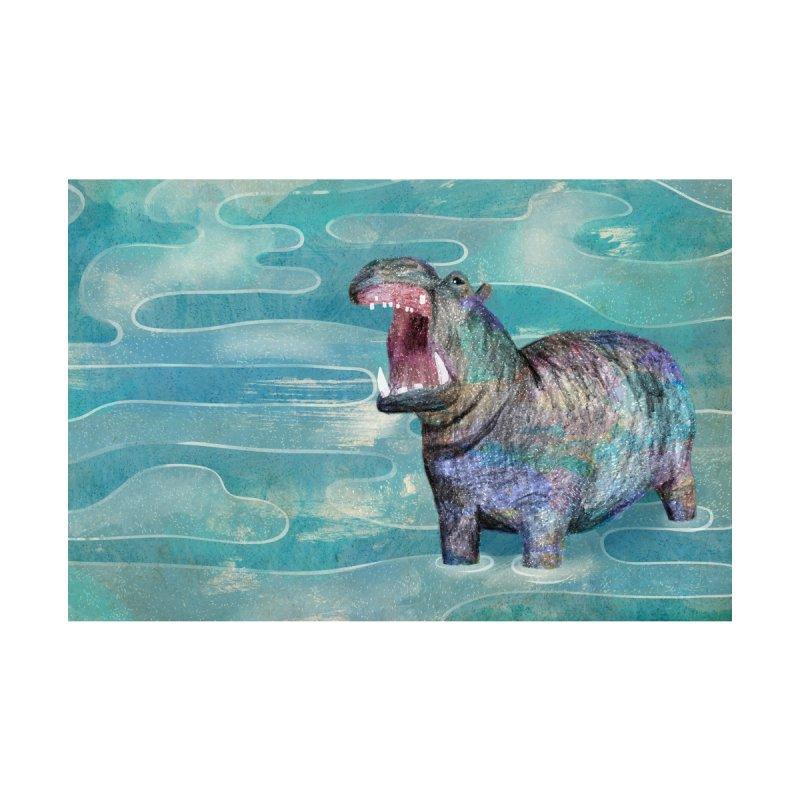 Hippo Men's Cut & Sew by Martina Scott's Shop