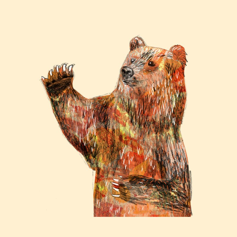 Bear Accessories Phone Case by Martina Scott's Shop