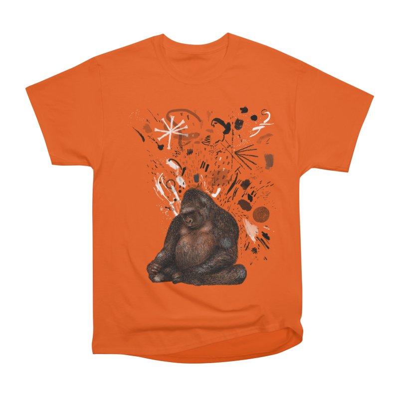 Moody Gorilla Women's T-Shirt by Martina Scott's Shop