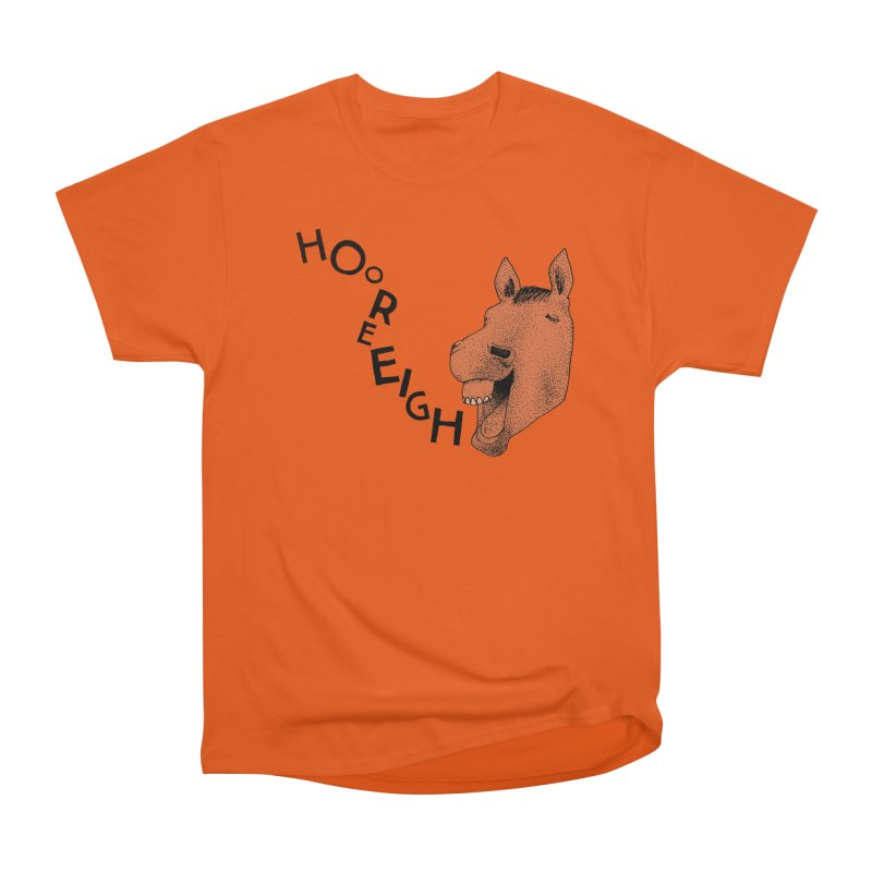 Hooray Horse Women's T-Shirt by Martina Scott's Shop