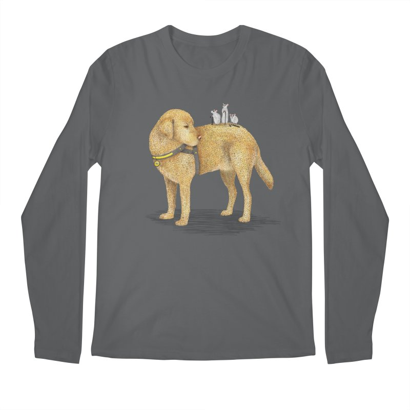 Three Blind Mice Men's Longsleeve T-Shirt by Martina Scott's Shop