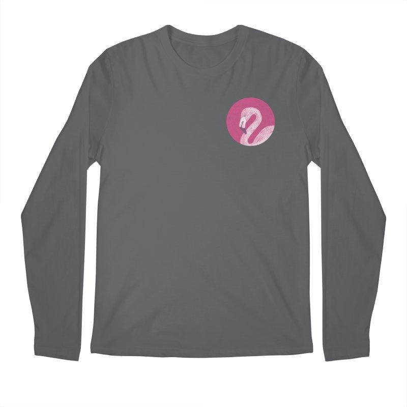Flamingo Men's Longsleeve T-Shirt by Martina Scott's Shop