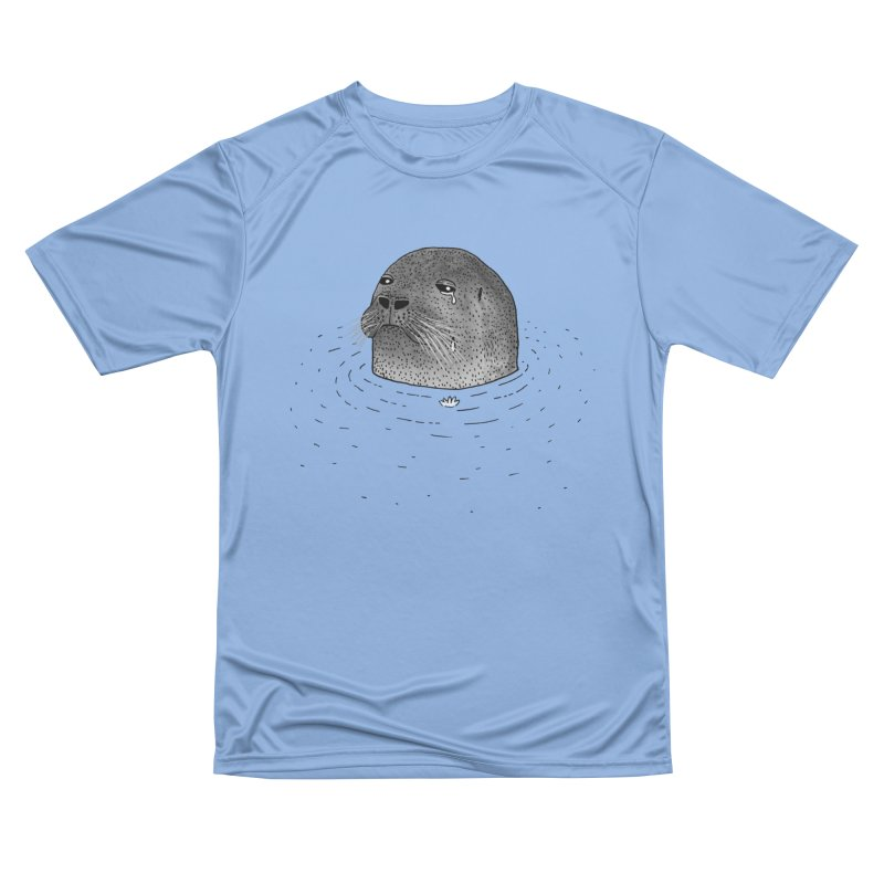 Sad Seal Women's T-Shirt by Martina Scott's Shop