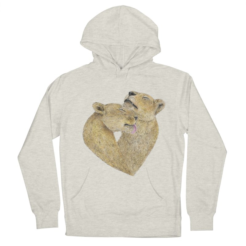 Lioness Lovers Women's Pullover Hoody by Martina Scott's Shop