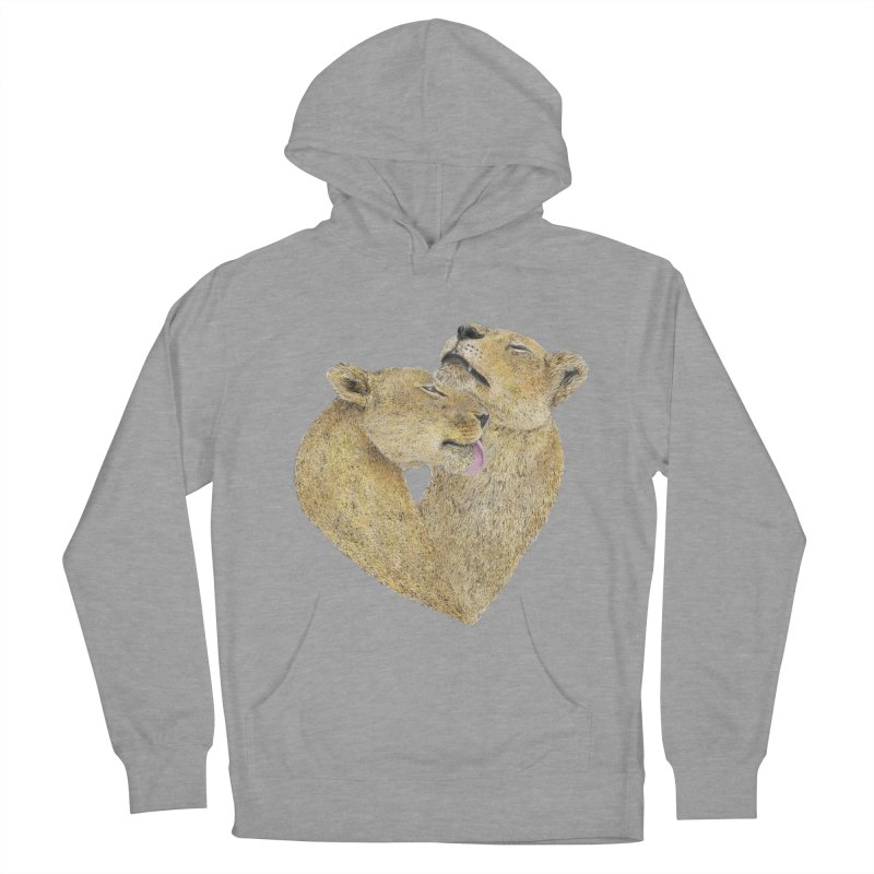 Lioness Lovers Men's Pullover Hoody by Martina Scott's Shop