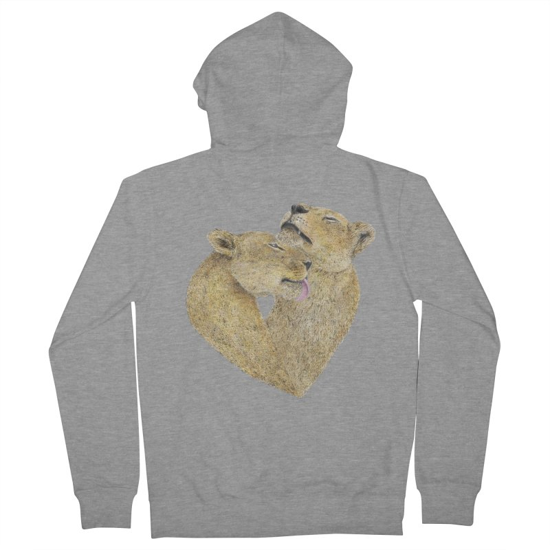 Lioness Lovers Women's Zip-Up Hoody by Martina Scott's Shop