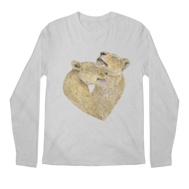 Lioness Lovers Men's Longsleeve T-Shirt by Martina Scott's Shop