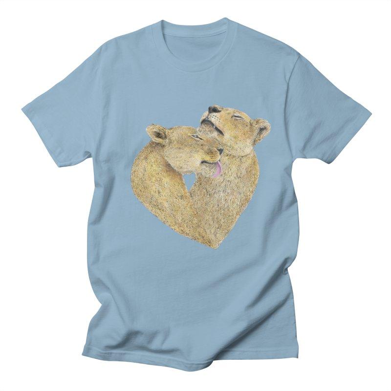 Lioness Lovers Women's Unisex T-Shirt by Martina Scott's Shop