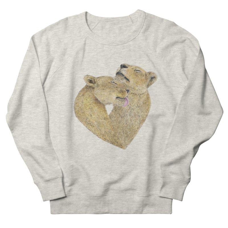 Lioness Lovers Men's Sweatshirt by Martina Scott's Shop