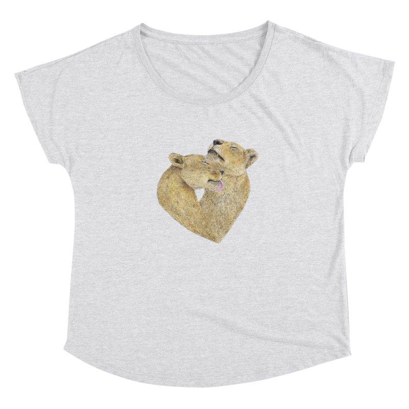 Lioness Lovers Women's Dolman by Martina Scott's Shop