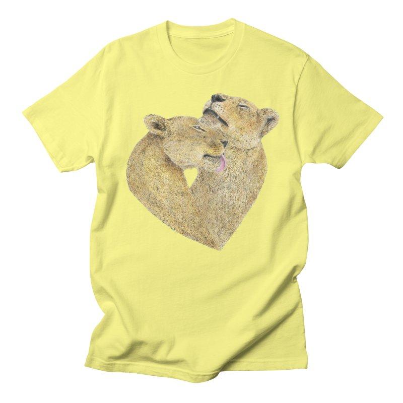 Lioness Lovers Men's T-Shirt by Martina Scott's Shop