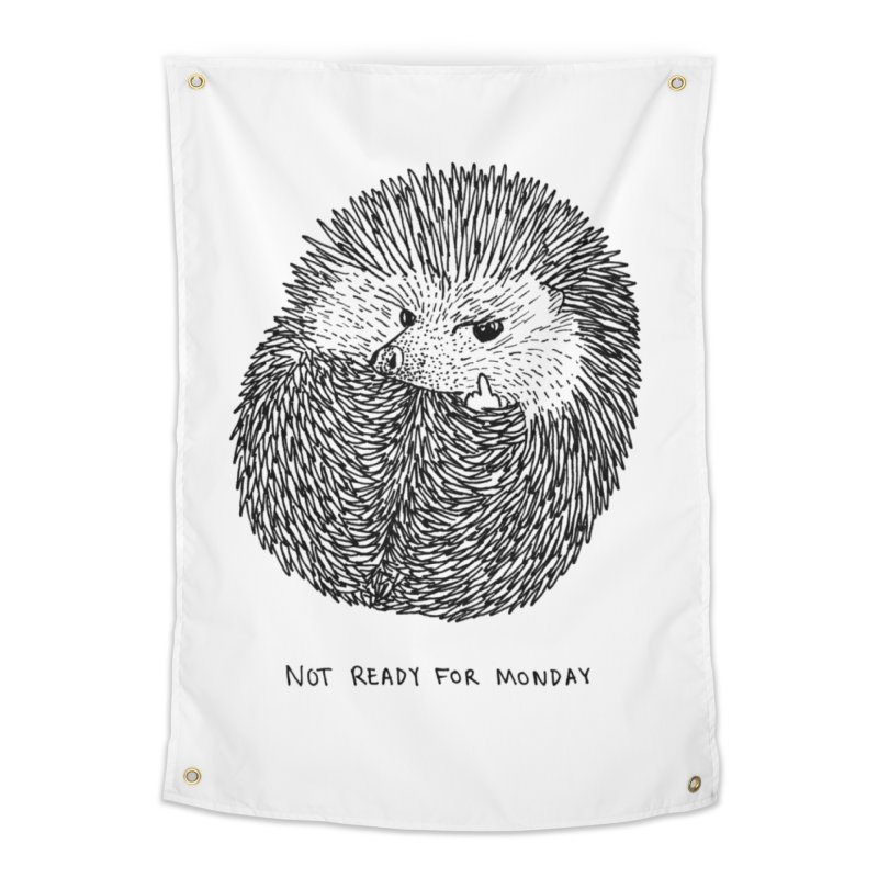 Not Ready For Monday Home Tapestry by Martina Scott's Shop