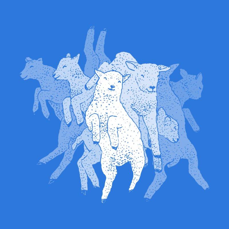 Lamb Dance Party Accessories Phone Case by Martina Scott's Shop