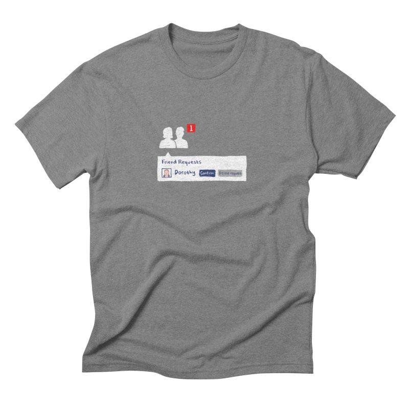 Friend of Dorothy Men's Triblend T-shirt by Martina Scott's Shop