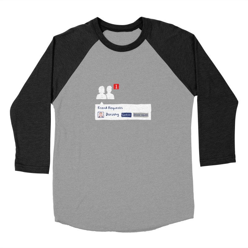 Friend of Dorothy Women's Baseball Triblend T-Shirt by Martina Scott's Shop