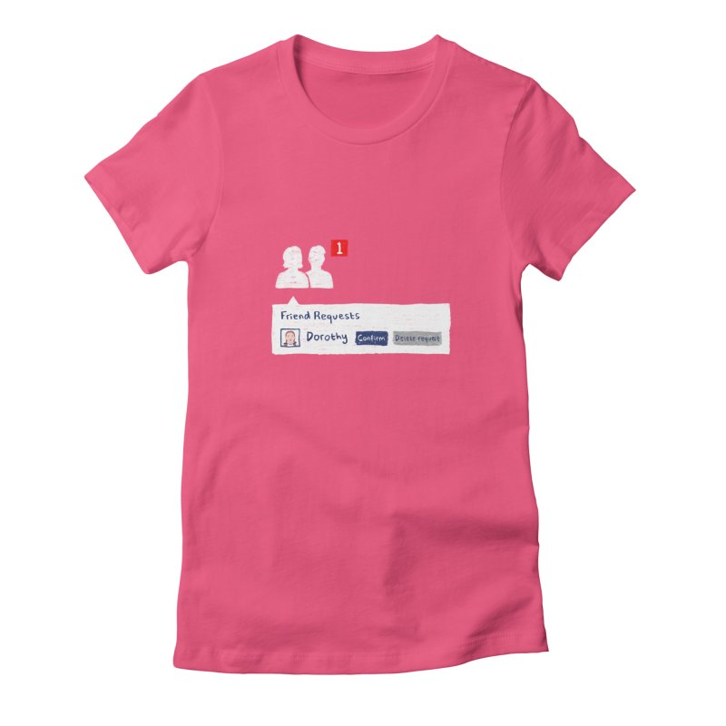 Friend of Dorothy Women's Fitted T-Shirt by Martina Scott's Shop