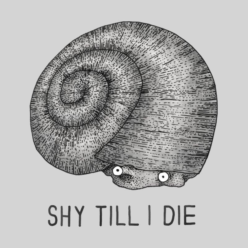 Shy Till I Die Men's T-Shirt by Martina Scott's Shop