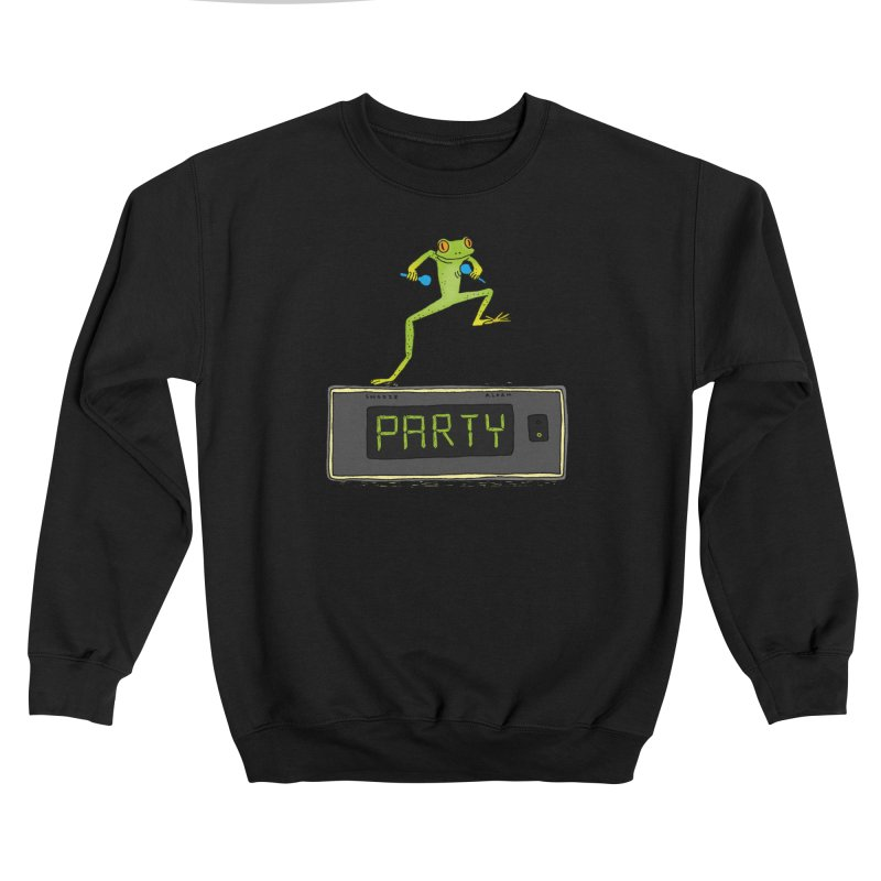 Party Frog Men's Sweatshirt by Martina Scott's Shop