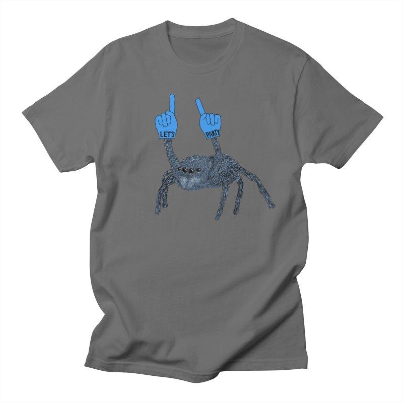 Party Spider Men's T-Shirt by Martina Scott's Shop