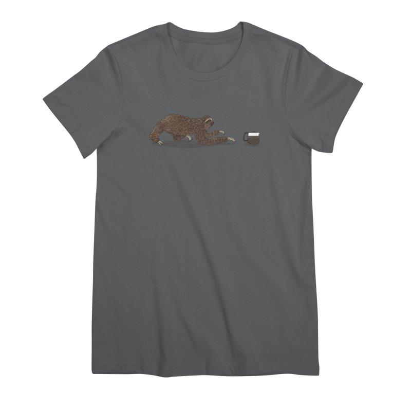 Crawl To The Coffee Women's T-Shirt by Martina Scott's Shop