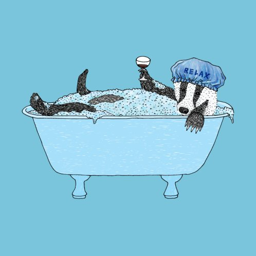 Design for Bathing Badger