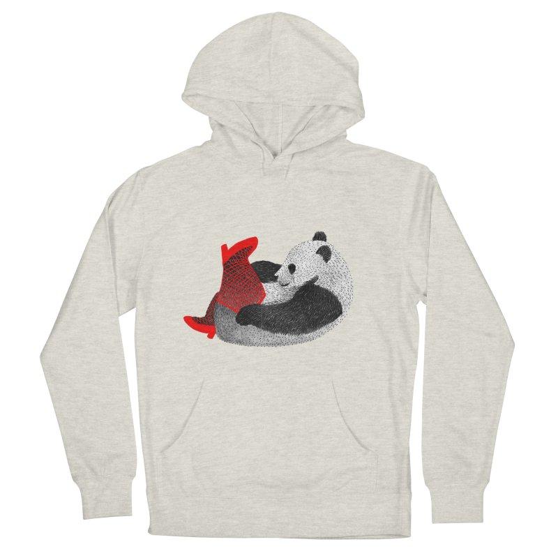 Party Panda Men's Pullover Hoody by Martina Scott's Shop