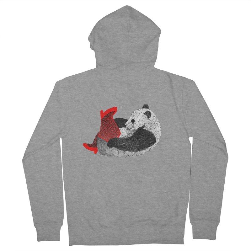 Party Panda Women's Zip-Up Hoody by Martina Scott's Shop