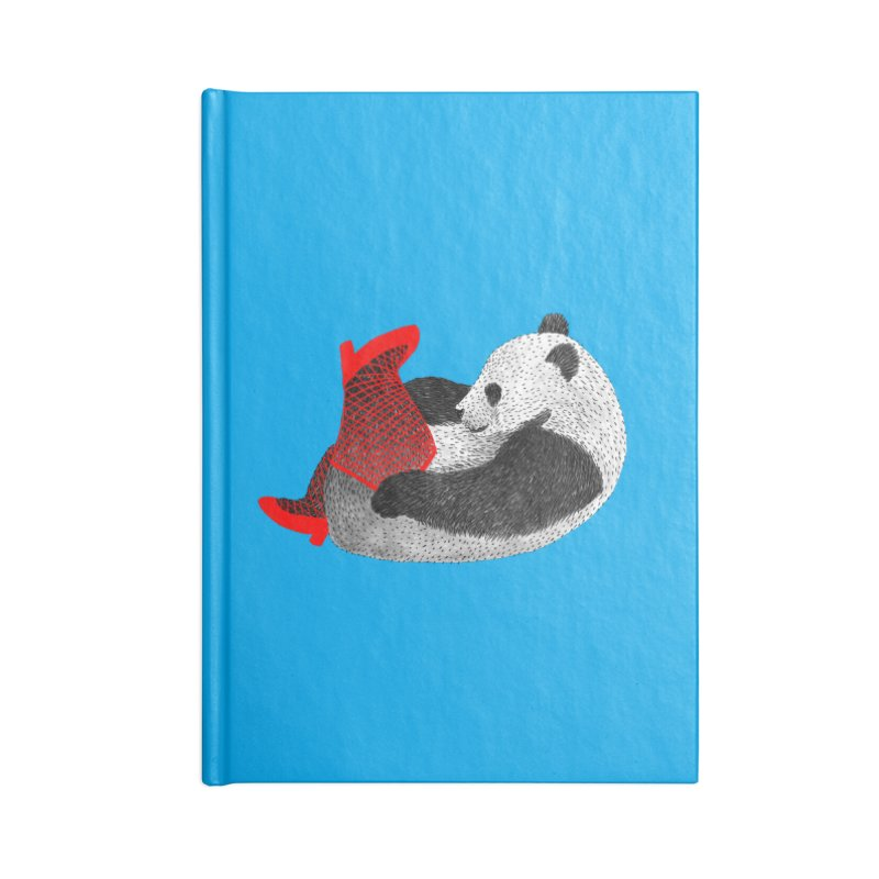 Party Panda Accessories Notebook by Martina Scott's Shop