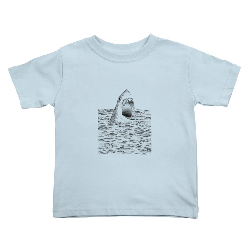 SHARK Kids Toddler T-Shirt by Martina Scott's Shop
