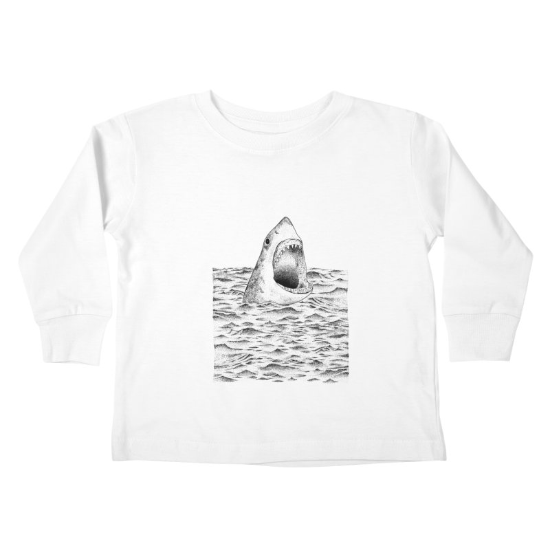 SHARK Kids Toddler Longsleeve T-Shirt by Martina Scott's Shop