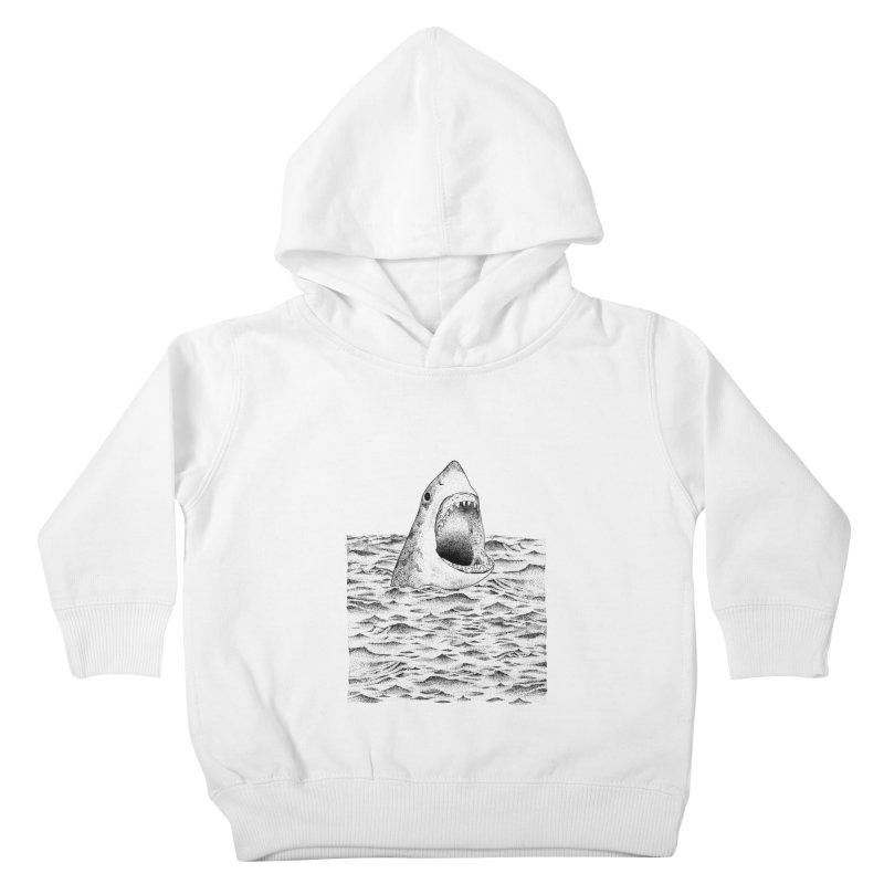 SHARK Kids Toddler Pullover Hoody by Martina Scott's Shop