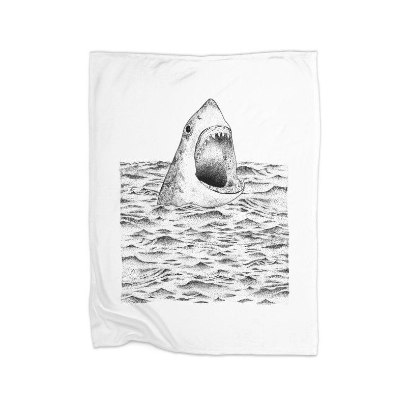 SHARK Home Blanket by Martina Scott's Shop