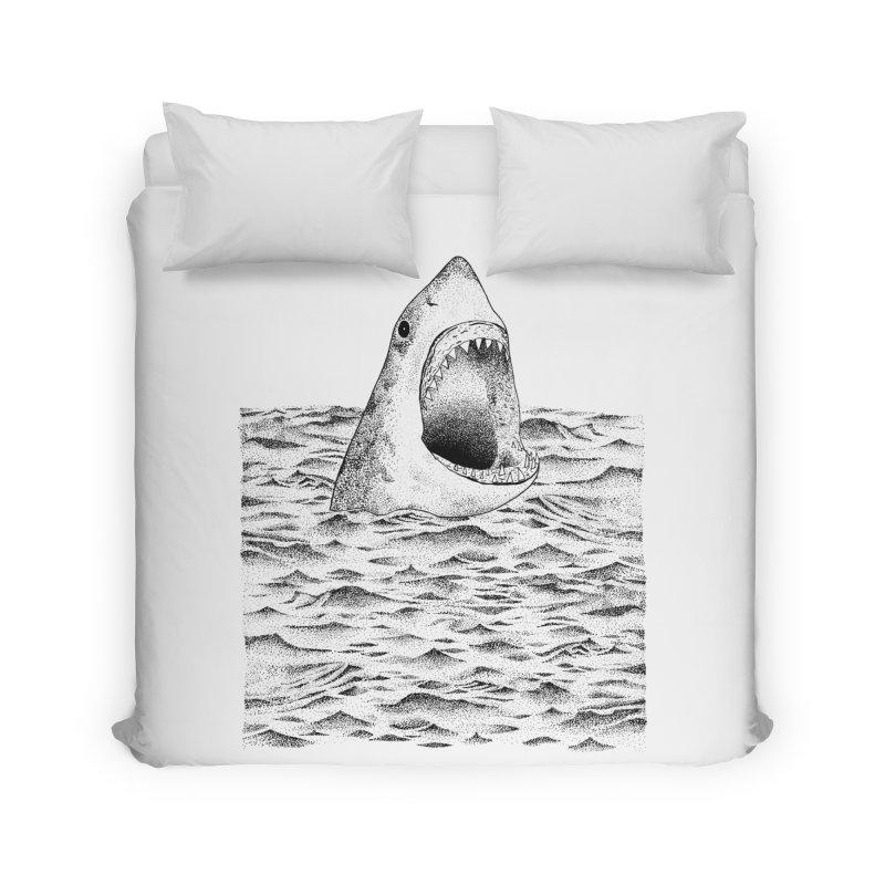 SHARK Home Duvet by Martina Scott's Shop