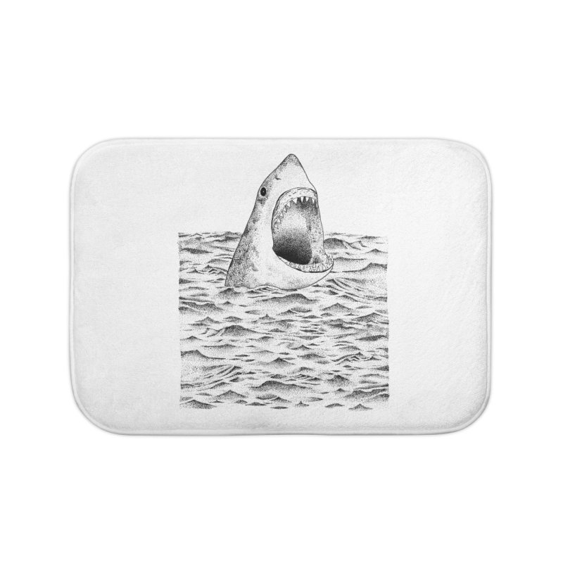 SHARK Home Bath Mat by Martina Scott's Shop