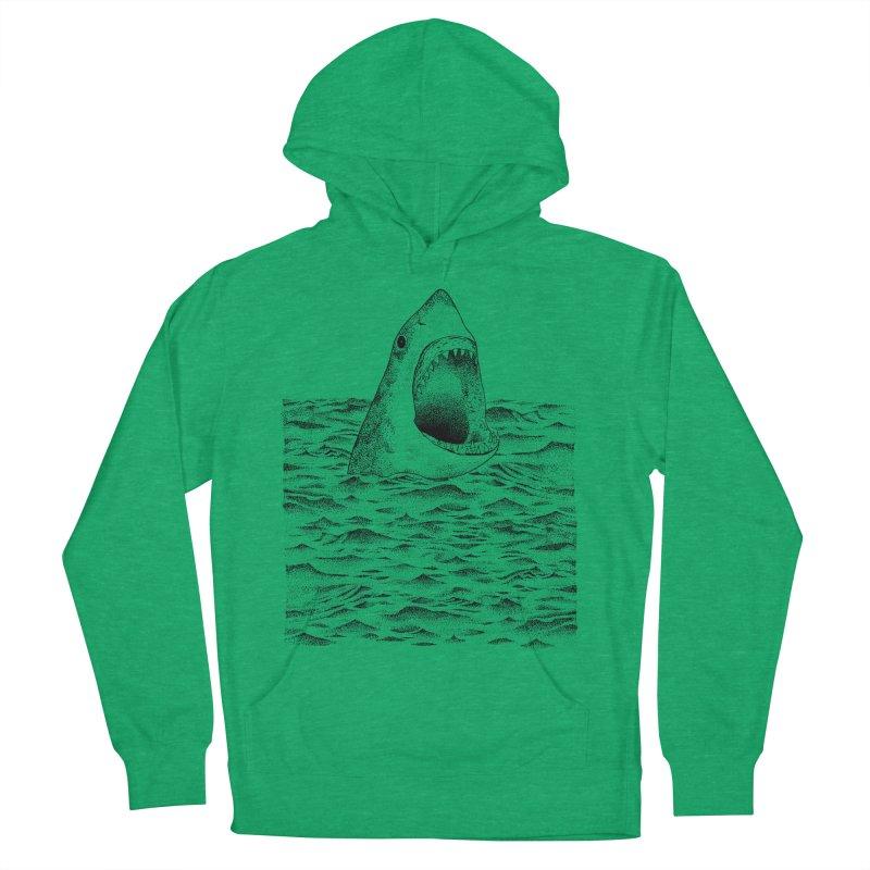 SHARK Men's Pullover Hoody by Martina Scott's Shop
