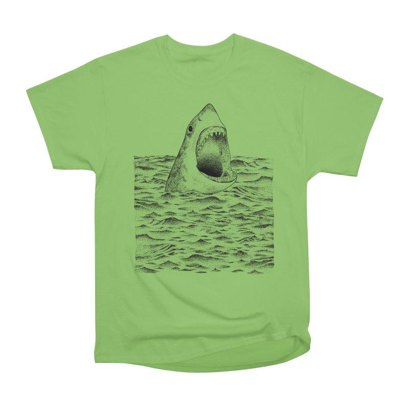 SHARK Men's Heavyweight T-Shirt by Martina Scott's Shop
