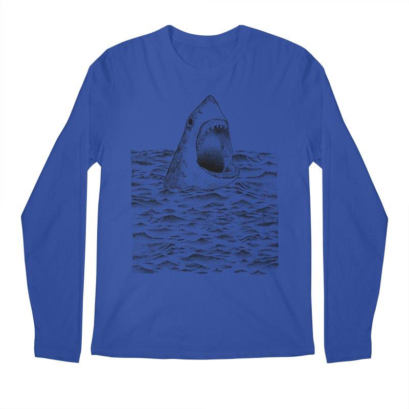 SHARK Men's Longsleeve T-Shirt by Martina Scott's Shop