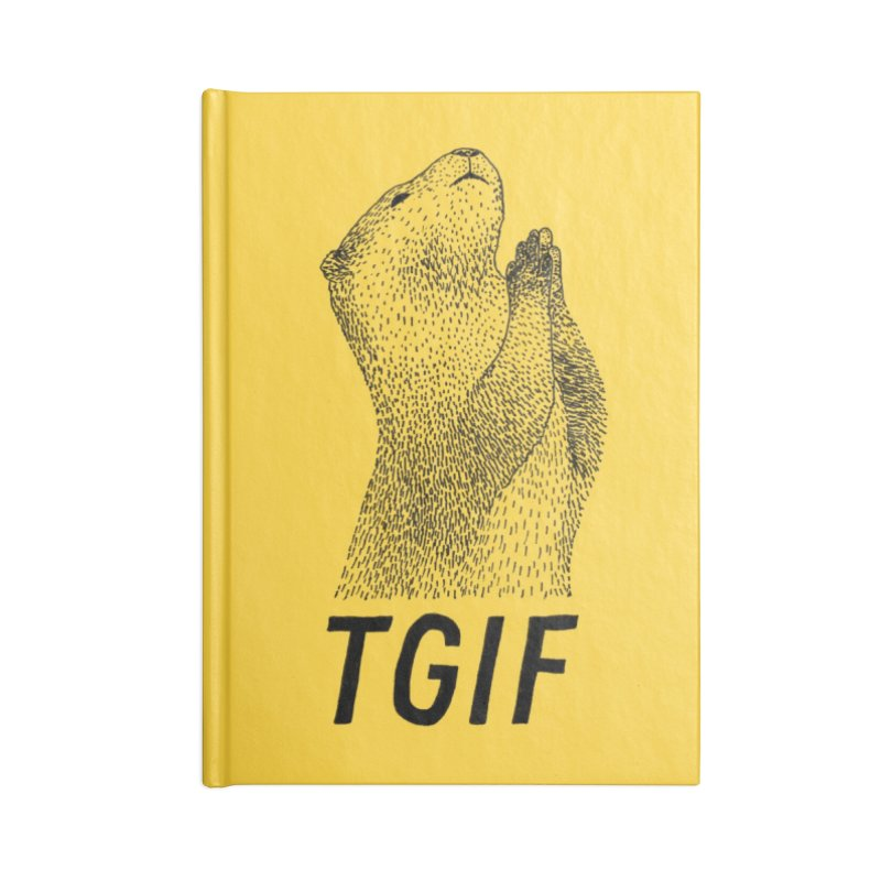 TGIF Accessories Notebook by Martina Scott's Shop