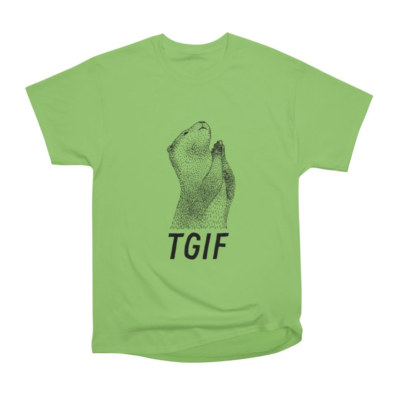 TGIF Men's Heavyweight T-Shirt by Martina Scott's Shop
