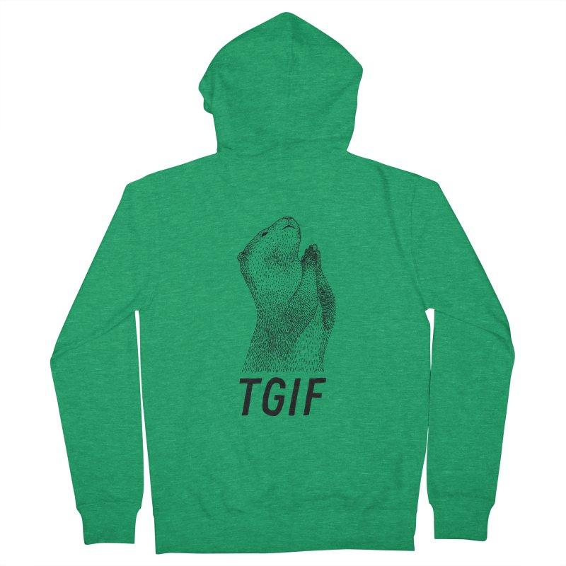 TGIF Women's Zip-Up Hoody by Martina Scott's Shop