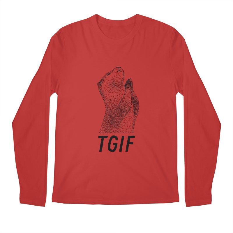 TGIF Men's Longsleeve T-Shirt by Martina Scott's Shop