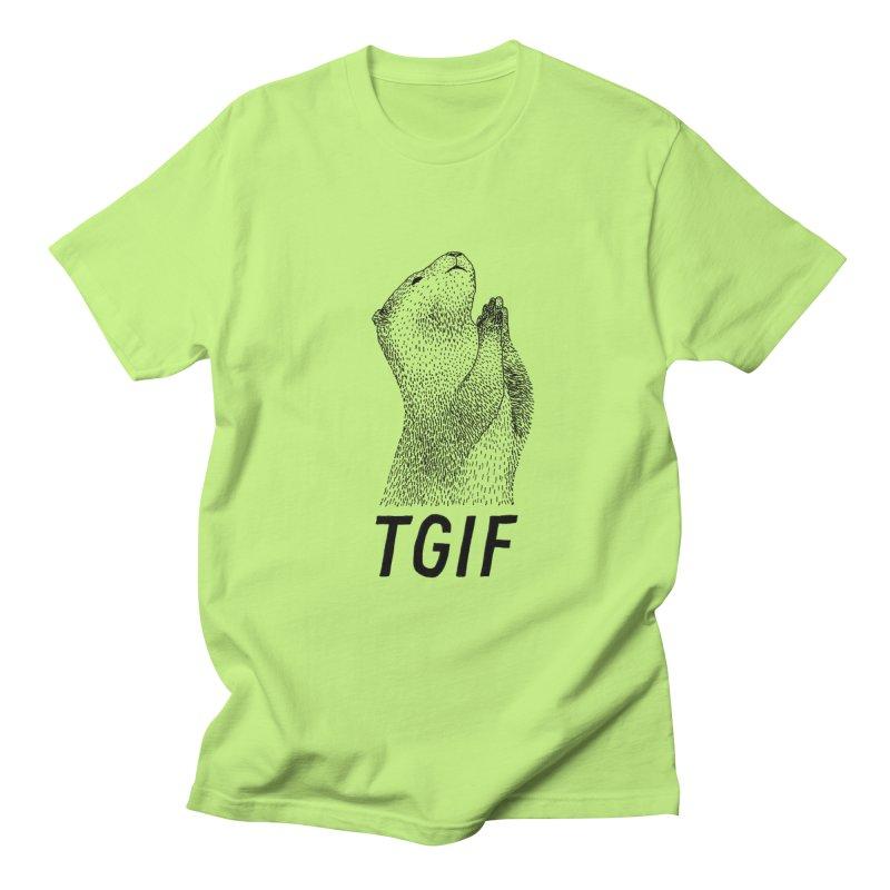 TGIF Men's T-Shirt by Martina Scott's Shop